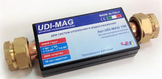 Магнитный преобразователь воды UDI-MAG