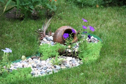 Декор выгребной ямы